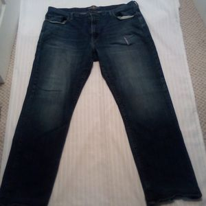 Lucky Brand 181 Men Dark Blue Jeans